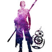 Star Wars Rey And Bb-8 Poster