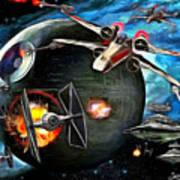 Star Wars Worlds At War Poster