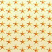 Starfish Pattern. Poster