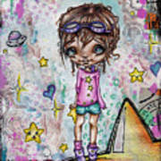Starla Jones The 3rd Intergalactic Star Jumper Poster