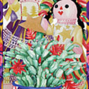 Starring The Christmas Cactus Poster