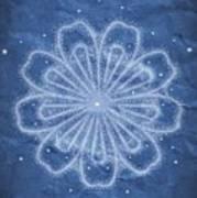 Starry Kaleidoscope Poster