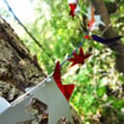 Stars Around Tree 2 Poster