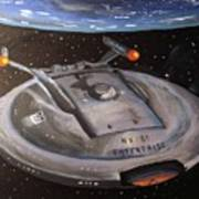 Starship Enterprise Poster