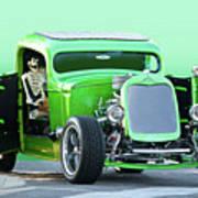 'starv'n Marvin' Hot Rod Pickup Poster