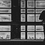 Staten Island Silhouette  Poster