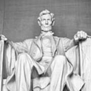 Statue Of Abraham Lincoln - Lincoln Memorial #4 Poster