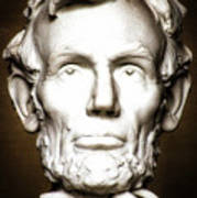 Statue Of Abraham Lincoln - Lincoln Memorial #5 Poster