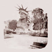Statue Of Liberty 1883 Poster