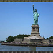 Statue Of Liberty New York America July 2015 Photo By Navinjoshi At Fineartamerica.com  Island Landm Poster