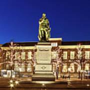 Statue Of William Of Orange On The Plein - The Hague Poster