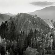 Stawamus Chief, Squamish, British Columbia, Canada, Tilt-shift Poster by Brian Caissie