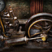 Steampunk - The Contraption Poster by Mike Savad
