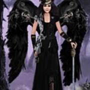 Steampunk Angel Poster by Melodye Whitaker