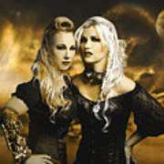 Steampunk Maidens Poster