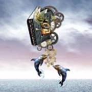 Steampunk Ocean Tale Poster