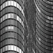 Steel And Glass Curtain Wall Poster by Photo by John Crouch