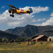 Steerman Bi-plane Poster