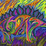 Stegasaurus Colorado Poster