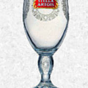 Stella Artois Chalice Painting Collectable Poster