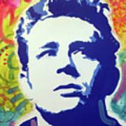 Stencil James Dean Poster