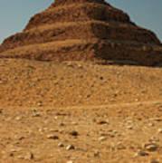 Step Pyramid Poster