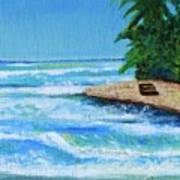 Steps Beach, Rincon Poster