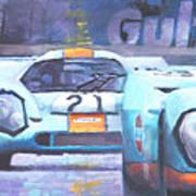 Steve Mcqueen Le Mans Porsche 917 01 Poster