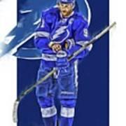 Steven Stamkos Tampa Bay Lightning Oil Art Series 2 Poster