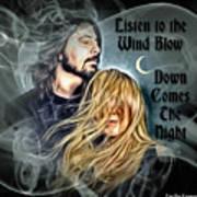 Stevie Nicks - Dave Grohl Poster
