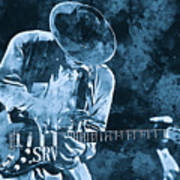 Stevie Ray Vaughan - 12 Poster