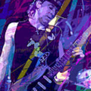 Stevie Ray Vaughan Sustain Poster