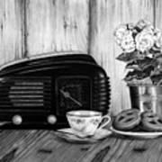 Still Life, Breakfast Poster