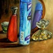Still Life Oil Painting Poster