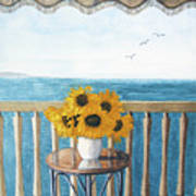 Still Life On A Patio Poster