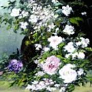 Still Life W/flowers Poster