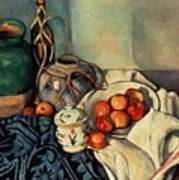Still Life With Apples Poster by Paul Cezanne