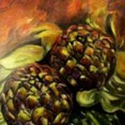 Still Life With Artichokes Poster