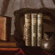 Still Life With Books Poster