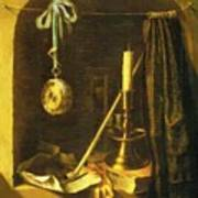 Still Life With Candle Poster