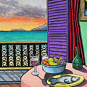 Still Life With Fish Poster by Joe Michelli