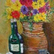 Still Life With Flowers Poster