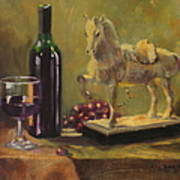 Still Life With Horse Poster