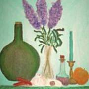 Still Life With Lilac Poster