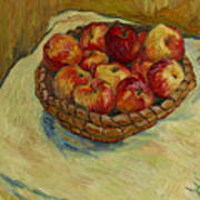 Still Life With Moravian Apples Poster