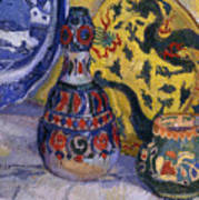 Still Life With Oriental Figures, 1913  Poster
