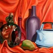 Still Life With Pear Poster