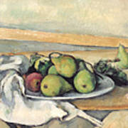 Still Life With Pears Poster