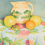 Still Life With Pitcher Poster