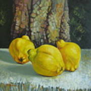Still Life With Quinces Poster